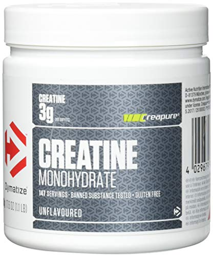 Dymatize Creatine Monohydrate Unflavoured Powder, 500 g
