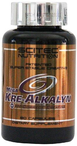 Scitec Nutrition Mega Kre-Alkalyn, 80 Kapseln