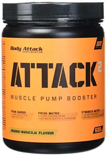 Body Attack ATTACK² , Orange-Maracuja, 600 g