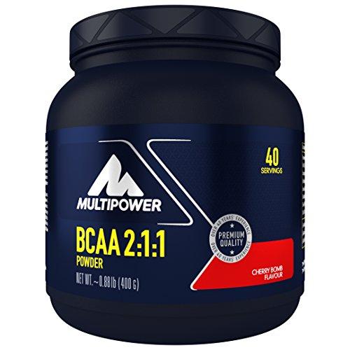Multipower BCAA 2:1:1, Cherry Bomb, 1 x 400 g