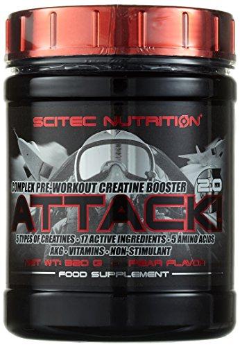 Scitec Nutrition Attack 2,0 Birne, 1er Pack (1 x 320 g)