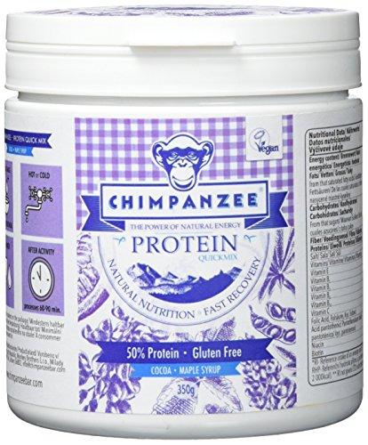 CHIMPANZEE Quick Mix Shake Protein á 350 g Kakao & Ahornsirup (VE 1/Preis pro Beutel) Ernährung violett Standardgröße