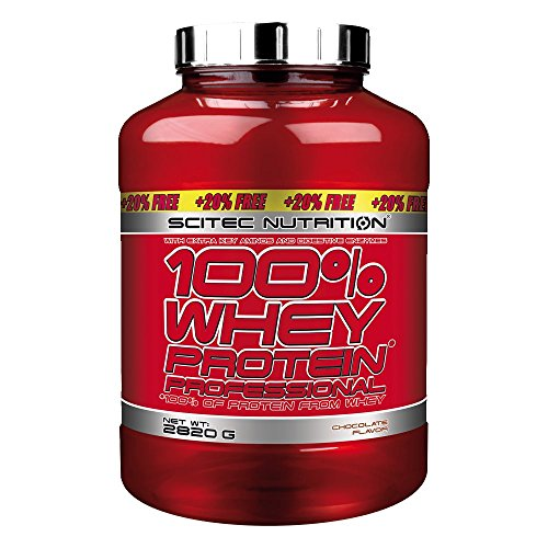 SCITEC 100% Whey Protein Professional - 2820 g - Cho/Hazel