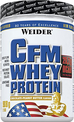 Weider, CFM Whey Protein, Schoko, 1er Pack (1x 908 g)