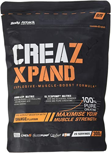 Body Attack CREAZ XPAND Creatine-Booster (1x 300 g) (Orange)