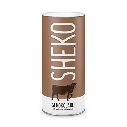 Diät-Shake Schoko | Schoko Mahlzeiten Ersatz Pulver | Ideal als Protein Shake & zum Abnehmen | Für 25 Portionen | Mit Vitaminen & Mineralstoffen