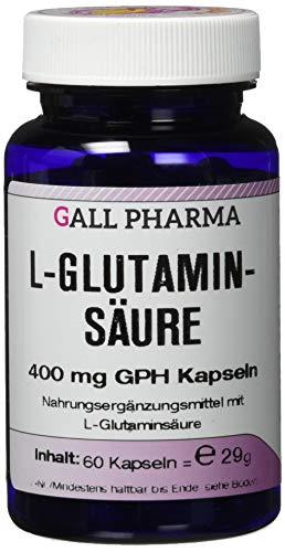 Gall Pharma L-Glutaminsäure 400 mg GPH Kapseln 60 Stück