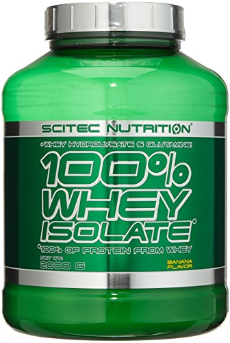 Scitec Nutrition Protein Whey Isolate, Banane, 2000g