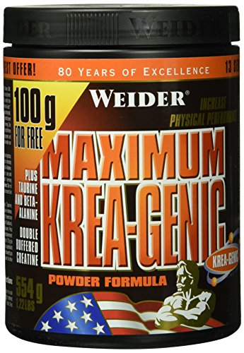 Weider, Maximum Krea Genic Powder, Neutral, 1er Pack (1x 554 g)
