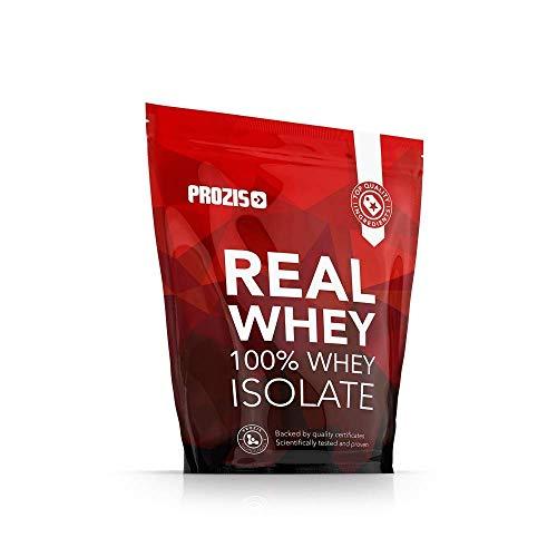 Prozis 100% Real Whey Isolate 1000 g Vanille - Ideal für Gewichtsverlust, Muskelerholung und Bodybuilding - leicht verdaulich, kohlenhydratarm