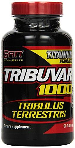 San Tribuvar Tribulus 1000 90 Tablets, 1er Pack (1 x 90 g)