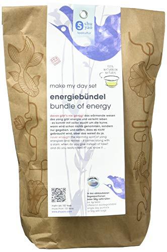 Shuyao Energiebündel Tee Set 15x naturreiner loser Tee - besser als jeder Energy Drink (45g)