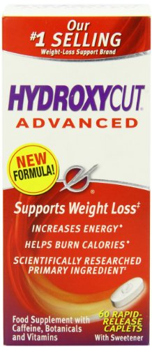 MuscleTech Hydroxycut Advanced USA No 1 Fatburner, Inhalt:60 Kapseln