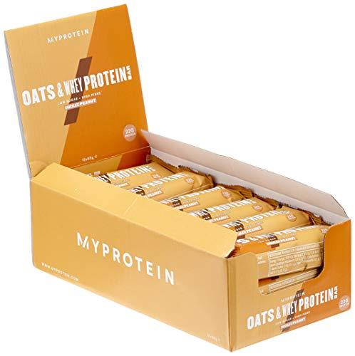 Myprotein MyBar Oats und Whey (Hafer-Proteinriegel) Chocolate Peanut 18 x 88 g, 1er Pack (1 x 1.584 kg)