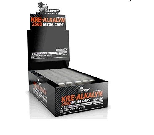 Olimp Kre Alkalyn 2500, 30 x 30 Kapseln, 1er Pack (1 x 900 g Packung)