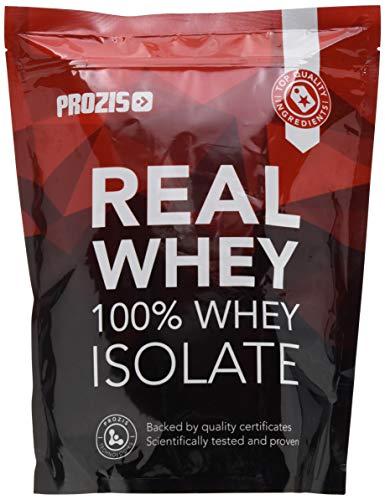 Prozis 100% Real Whey Isolate 1000 g Natürlich - Ideal für Gewichtsverlust, Muskelerholung und Bodybuilding - leicht verdaulich, kohlenhydratarm